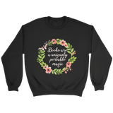 """Portable magic"" Sweatshirt - Gifts For Reading Addicts"