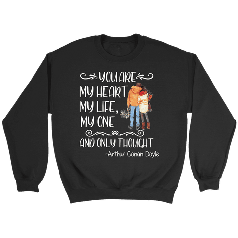 """My heart my life"" Sweatshirt"
