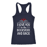"""I love you"" Women's Tank Top - Gifts For Reading Addicts"