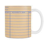 Library Card Multicolor Mug - Gifts For Reading Addicts