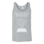 They say you are what you read Unisex Tank - Gifts For Reading Addicts