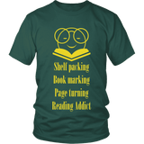 Nirvana reading t-shirt - Gifts For Reading Addicts