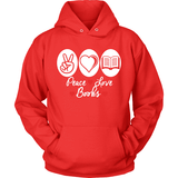 Peace Love Books-For Reading Addicts