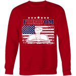 Freadom Sweatshirt - Gifts For Reading Addicts