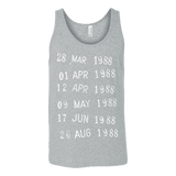 Library Stamp Unisex Tank-For Reading Addicts