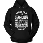 Diamonds & Libraries - Gifts For Reading Addicts