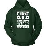 Stay Away I Have O.R.D Hoodie-For Reading Addicts