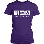 Eat Sleep Read-For Reading Addicts