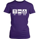 Eat Sleep Read - Gifts For Reading Addicts