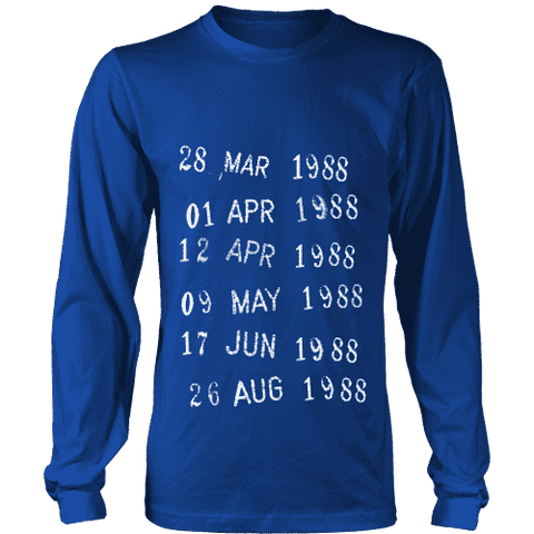 Library Stamp Long Sleeve - Gifts For Reading Addicts