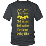 Nirvana reading t-shirt-For Reading Addicts