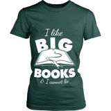 I like big books and i cannot lie Fitted T-shirt - Gifts For Reading Addicts