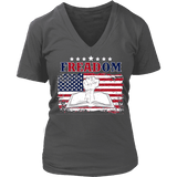 Freadom V-neck-For Reading Addicts