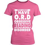 Stay Away i have O.R.D-For Reading Addicts