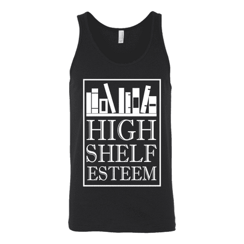 High Shelf Esteem Unisex Tank-For Reading Addicts