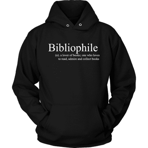 Bibliophile Hoodie - Gifts For Reading Addicts