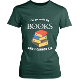 I've Got really Big Books  Fitted T-shirt - For reading addicts - T-shirt - 6