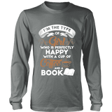 Books and Coffee Long Sleeve-For Reading Addicts