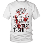 Game of Thrones Bloody T-shirt Unisex T-shirt-For Reading Addicts