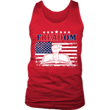 Freadom Mens Tank - Gifts For Reading Addicts