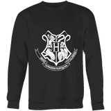 The Hogwarts Crest Sweatshirt - Gifts For Reading Addicts