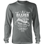 I am a reader Long Sleeve - Gifts For Reading Addicts
