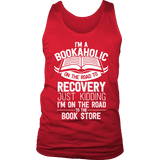 I'm a Bookaholic Mens Tank-For Reading Addicts
