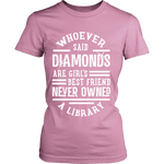Diamonds & Libraries-For Reading Addicts