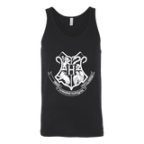 The Hogwarts Crest Unisex Tank - Gifts For Reading Addicts