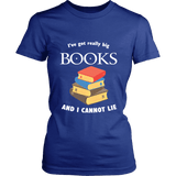 I've Got really Big Books  Fitted T-shirt - For reading addicts - T-shirt - 3