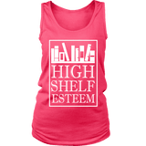 High Shelf Esteem Womens Tank-For Reading Addicts
