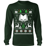 Christmas Ugly Sweater Tees-For Reading Addicts