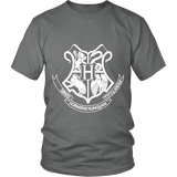 The Hogwarts Crest Unisex T-shirt-For Reading Addicts