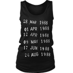 Library Stamp Womens Tank - Gifts For Reading Addicts