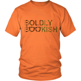 Boldly bookish Unisex T-shirt-For Reading Addicts