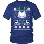 Christmas Ugly Unisex T-shirt - Gifts For Reading Addicts