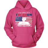 Freadom Hoodie-For Reading Addicts
