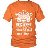 I'm a Bookaholic Unisex T-shirt-For Reading Addicts