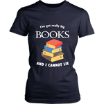 I've Got really Big Books  Fitted T-shirt - For reading addicts - T-shirt - 7