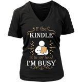 If the Kindle is in my hand ...-For Reading Addicts