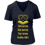The reading Nirvana T-shirt - Gifts For Reading Addicts
