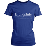 Bibliophile Fitted T-shirt-For Reading Addicts