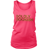 Boldly bookish Womens Tank-For Reading Addicts