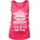 I'm a Bookaholic Womens Tank-For Reading Addicts