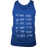 Library Stamp Mens Tank - Gifts For Reading Addicts