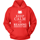 Keep Calm I'm Reading-For Reading Addicts