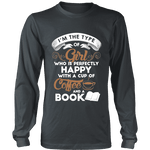 Books and Coffee Long Sleeve - Gifts For Reading Addicts