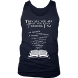 They say you are what you read Mens Tank - Gifts For Reading Addicts