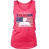 Freadom Womens Tank-For Reading Addicts