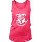 The Hogwarts Crest Womens Tank-For Reading Addicts